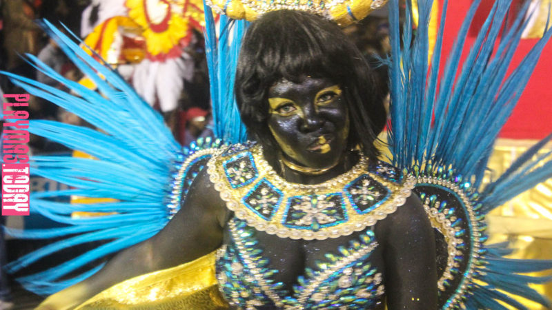 Life of a legend carnival tour first stop Nassau, Bahamas Junkanoo Dec. 26 2016