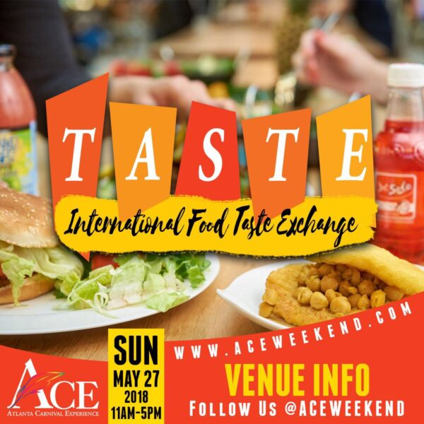 "Sun May 27th - ""Taste"" Intl Food Exchange"