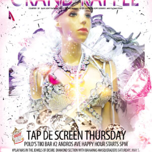 Bahamas Carnival Road March Grand Raffle Tap De Screen Thursdy
