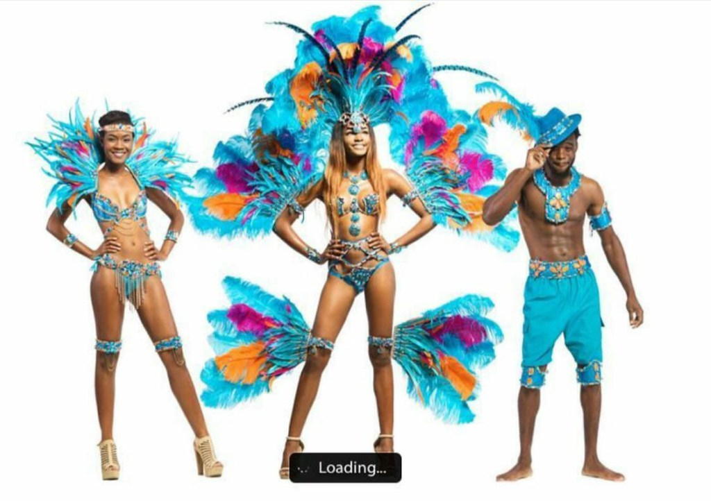 INDULGENCE costume offer by Bahamas Carnival Mas Band Xtasy