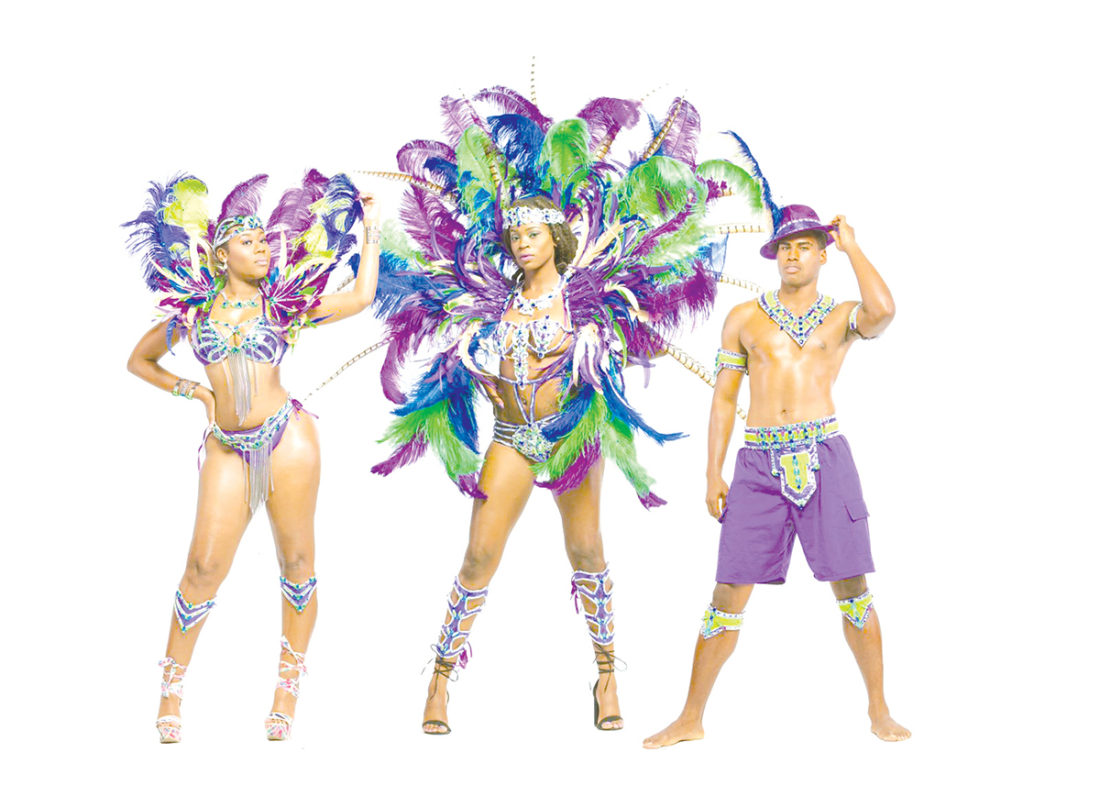 Lust costue offer by Xtasy Mas Band Bahamas Carnival