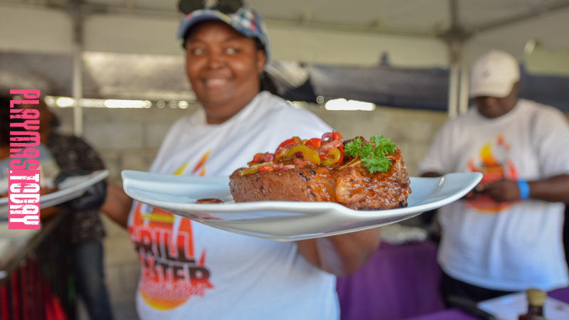 Grill Master in Nassau Bahamas