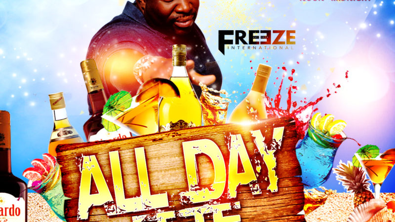 Bahamas Carnival Freeze International Insomniac All Day Fete Friday, May 4
