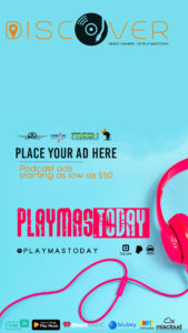 Podcast advertising on Discover Music Channel by PlayMas.Today
