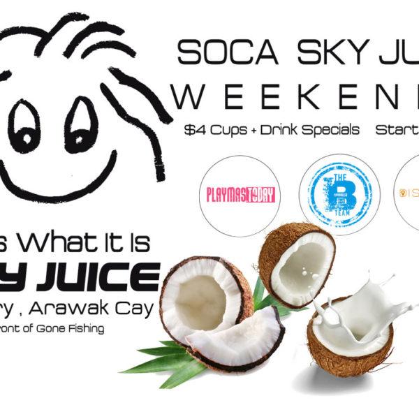 Soca Sky Juice Weekends at It Is What It Is SkyJuice Bar Nassau, Bahamas Fish Fry