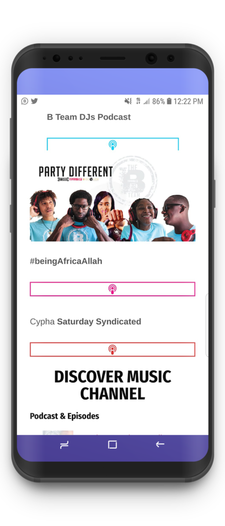 Discover music channel by playmas.today