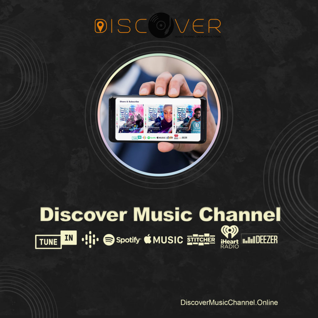 Discover Music Channel by PlayMas.Today Now Available on over 23 platforms plus, TV, and in cars app. B Team DJ, Discover Talk, Talk about in with Kes & Lans, #beingAfricaAllah, Cypha Saturday, TechMi Tech Talk, Lunch box mix, Hol' ah Vibe,