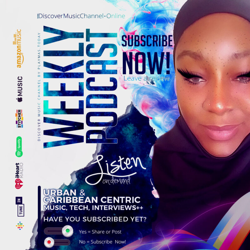 delivered with passion to inspire freedom. Subscribe to #beingAfricaAllah on Discover Music Channel by PlayMas.Today Urban, Caribbean and Talk (Tech and business)