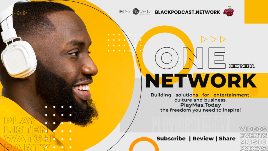One New Media Network a community for creativity and growth. Podcast, Blogs, Videos, travel. Culture, Music, Conversation. the home of Discover Music Channel by PlayMas.Today, Goodwifi.party & BlackPodcast.Network Explore the black experience