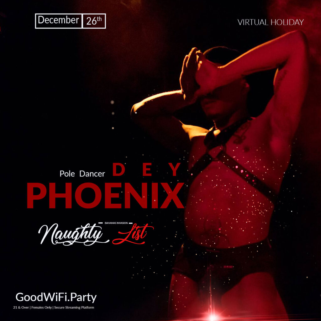 Naughty List Pole Dancer Dey Phoenix