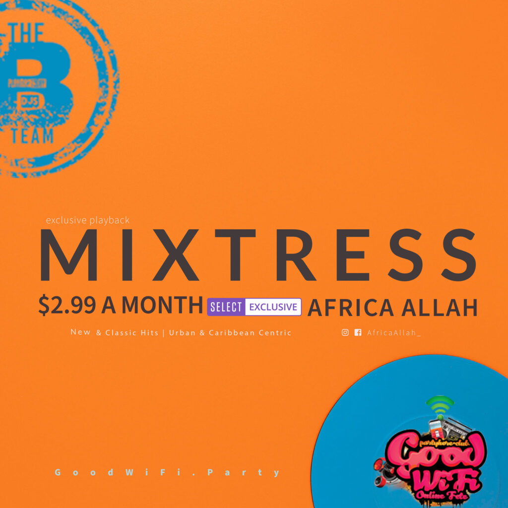 Africa Allah on Mixcloud Select Get exculsive access to rewards and customized mixes for any event. Support the shows you love and the music you listen to.
