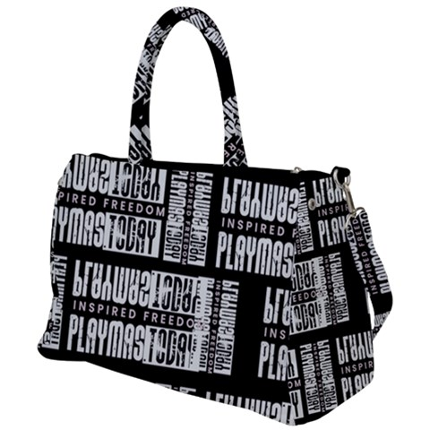 PlayMasToday-Lux-Branded Duffel Travel Ba