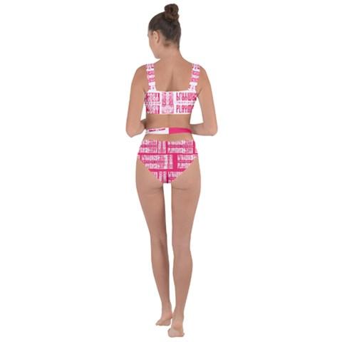 Playmas Today Lux Bandaged Up Bikini Set