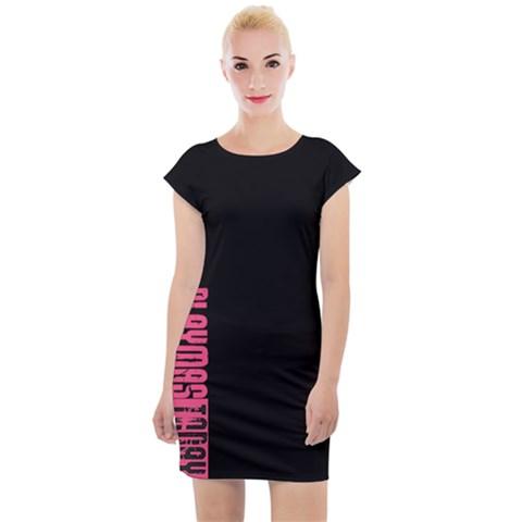 Playmas Today Lux Cap Sleeve Bodycon Dress