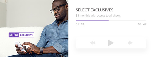 Mixcloud select exclusive access to subscriber only content