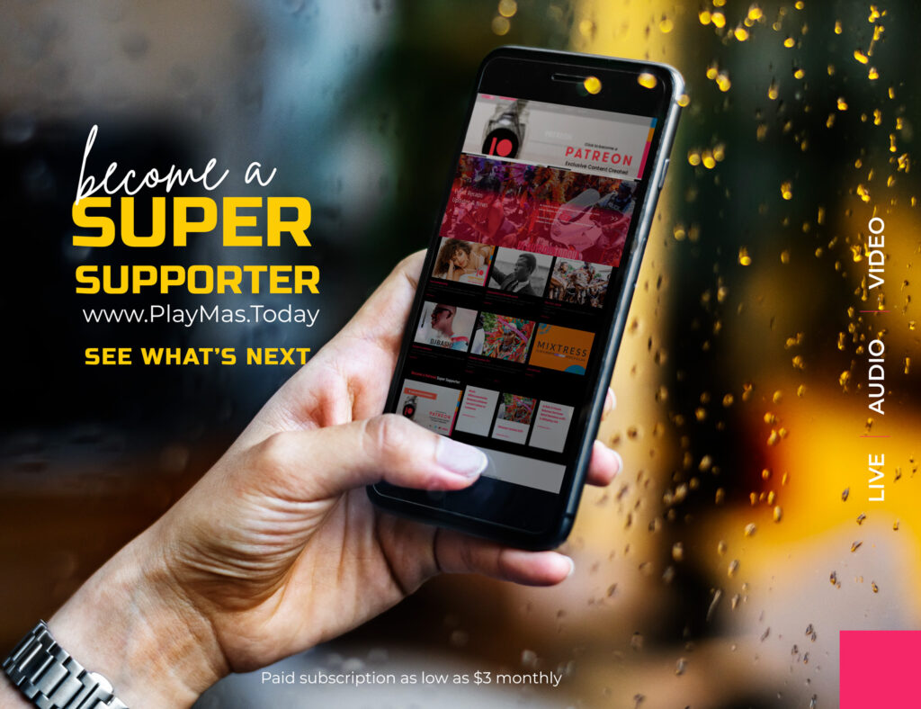 Become a Super Supporter. get access to exclusive content  for as low as $3 monthly. Supported by Patreon