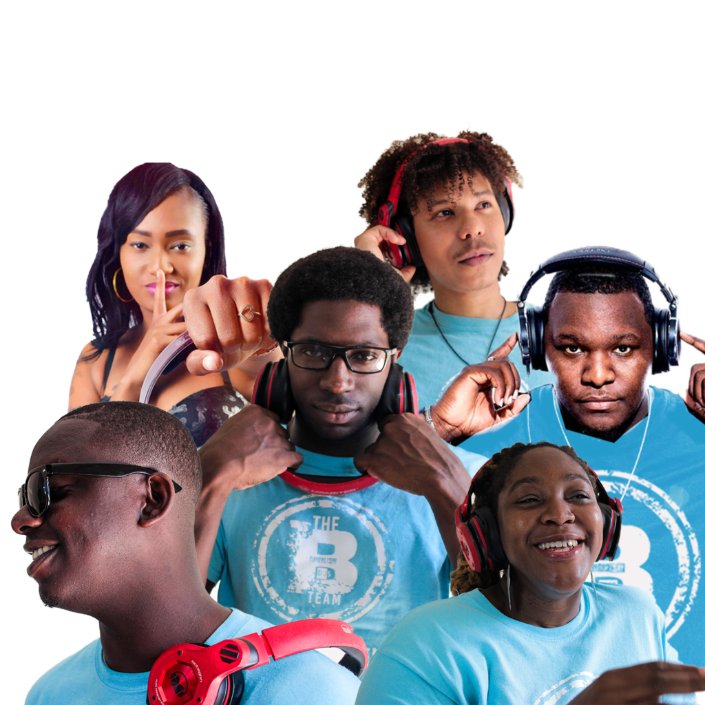 Every great party experience starts and ends with the B Team DJs +. Get to know the team by subscribing to our Super Supporters product, following our podcast and joining our community. #BTeamDJs+: Mixtress Africa Allah, DJ Bash, DJ Kozmo, DJ Rude, DJ Shutdown + Fresh International