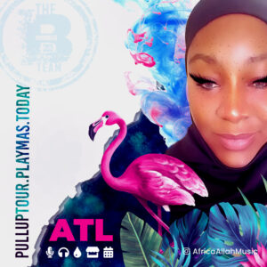 ATL Pull UP with Mixtress Africa Allah of #BTeamDJs. Book now for appearances.