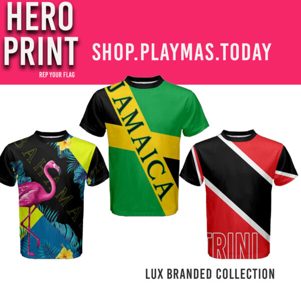 Celebrate your island all year round with our Hero Print from the Lux Branded Collection by PlayMas.Today Request your hero print